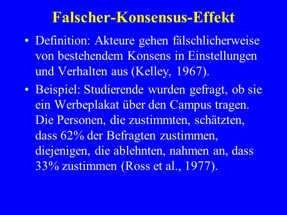 Falscher-Konsensus-Effekt