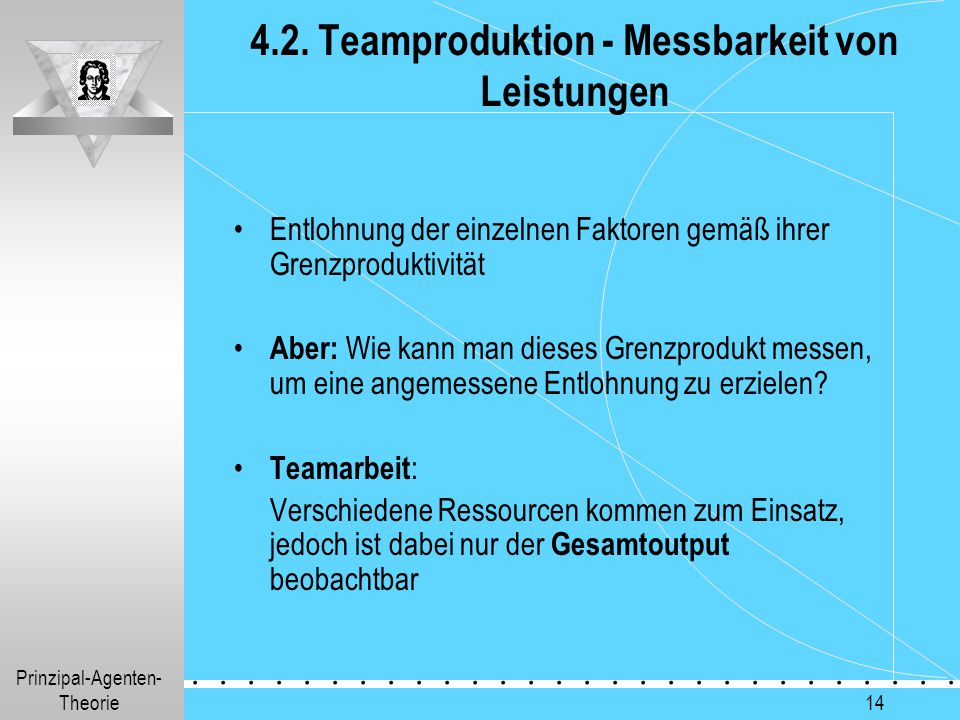 4.2. Teamproduktion - Messbarkeit von Leistungen