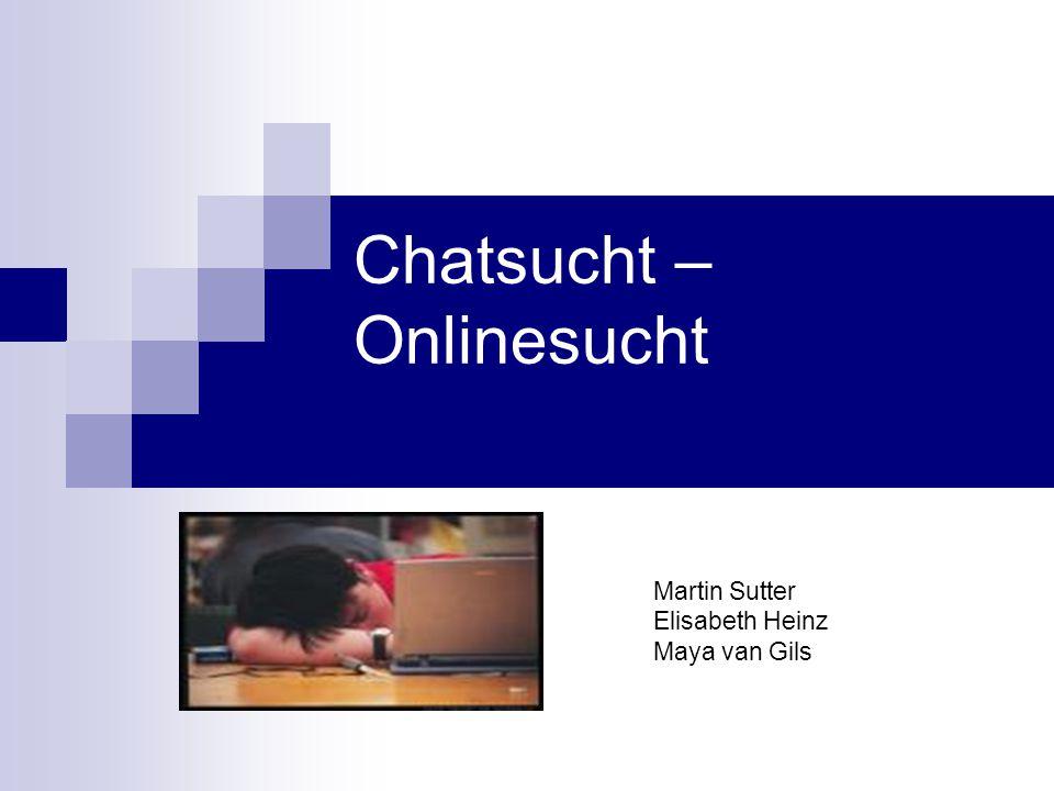 Chatsucht – Onlinesucht