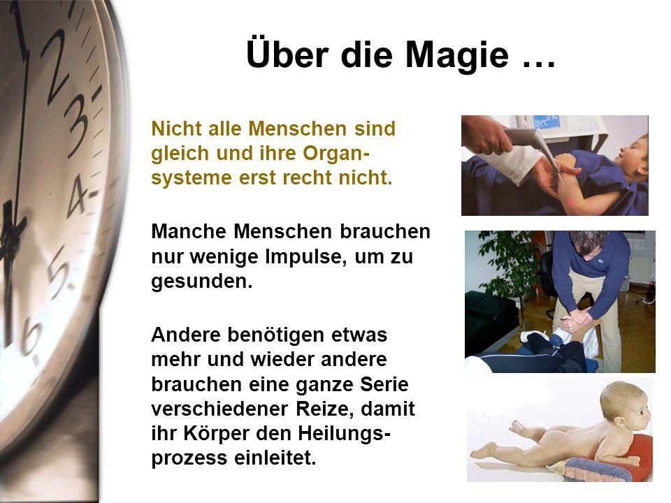 Über die Magie … Nicht alle Menschen sind gleich und ihre Organ-systeme erst recht nicht.