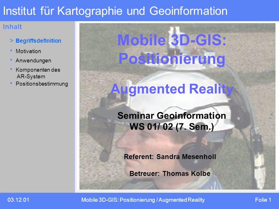 Institut für Kartographie und Geoinformation