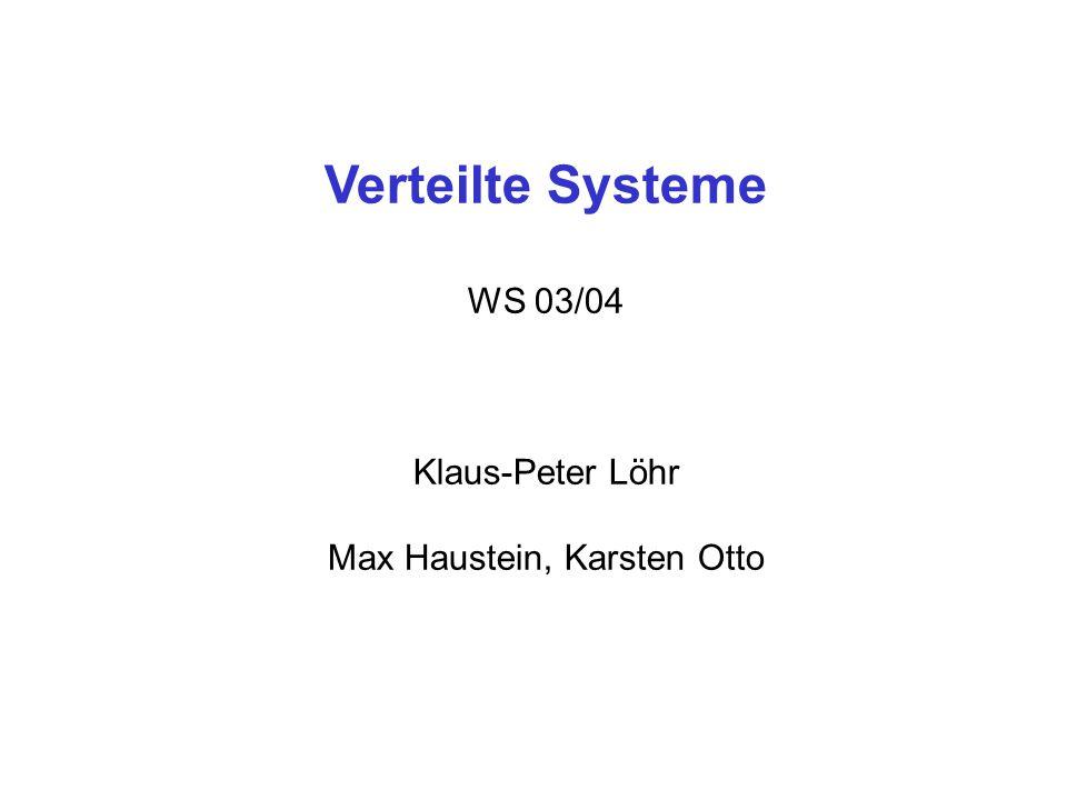 Max Haustein, Karsten Otto