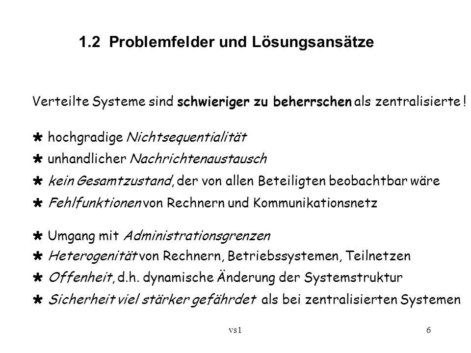 1.2 Problemfelder und Lösungsansätze
