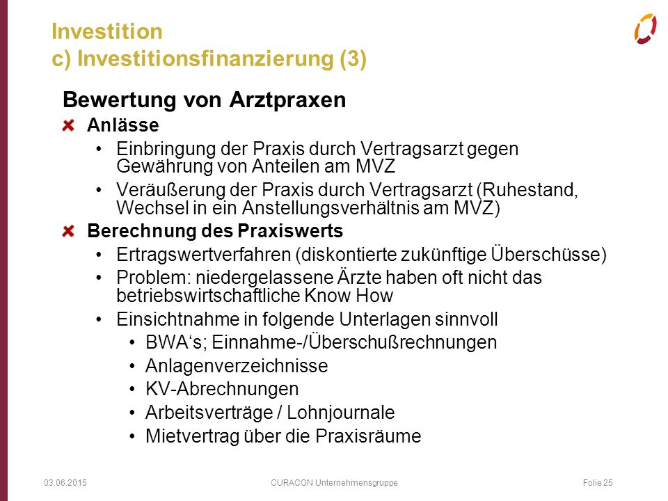 Investition c) Investitionsfinanzierung (3)