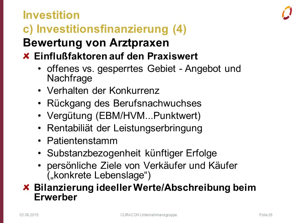Investition c) Investitionsfinanzierung (4)