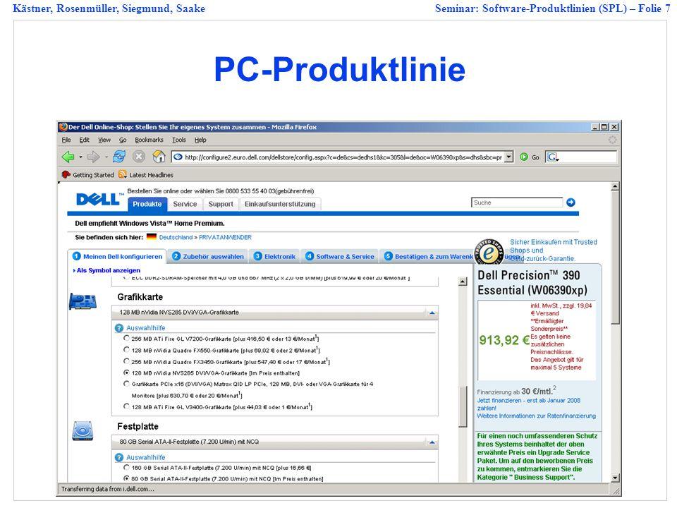 PC-Produktlinie