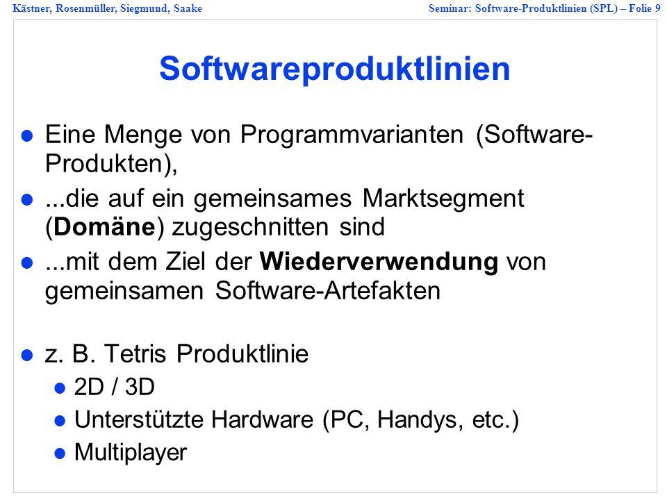 Softwareproduktlinien