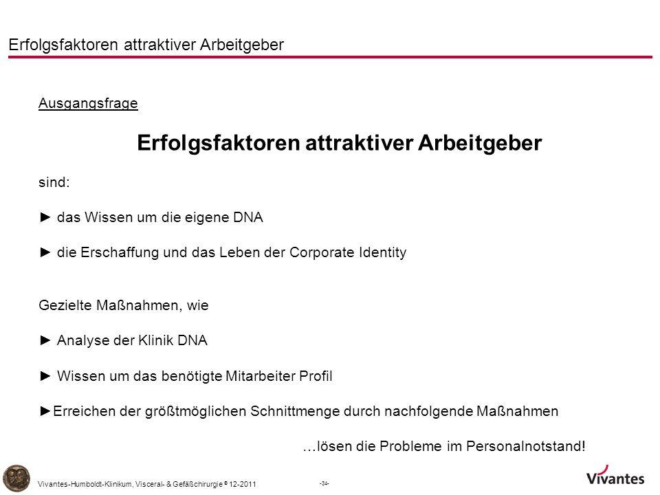 Erfolgsfaktoren attraktiver Arbeitgeber