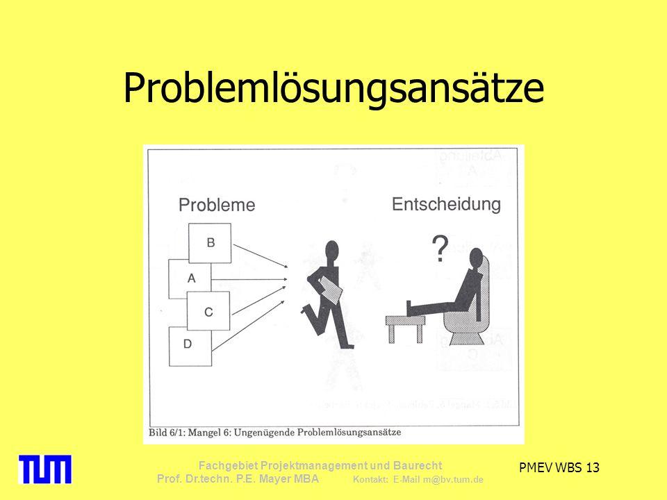 Problemlösungsansätze