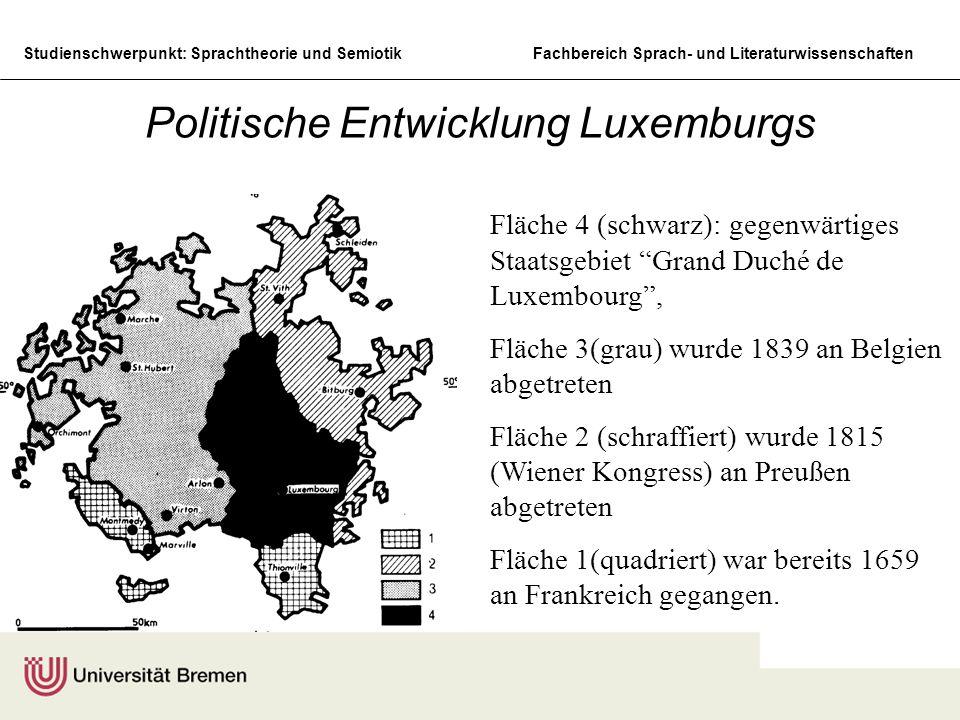 Politische Entwicklung Luxemburgs