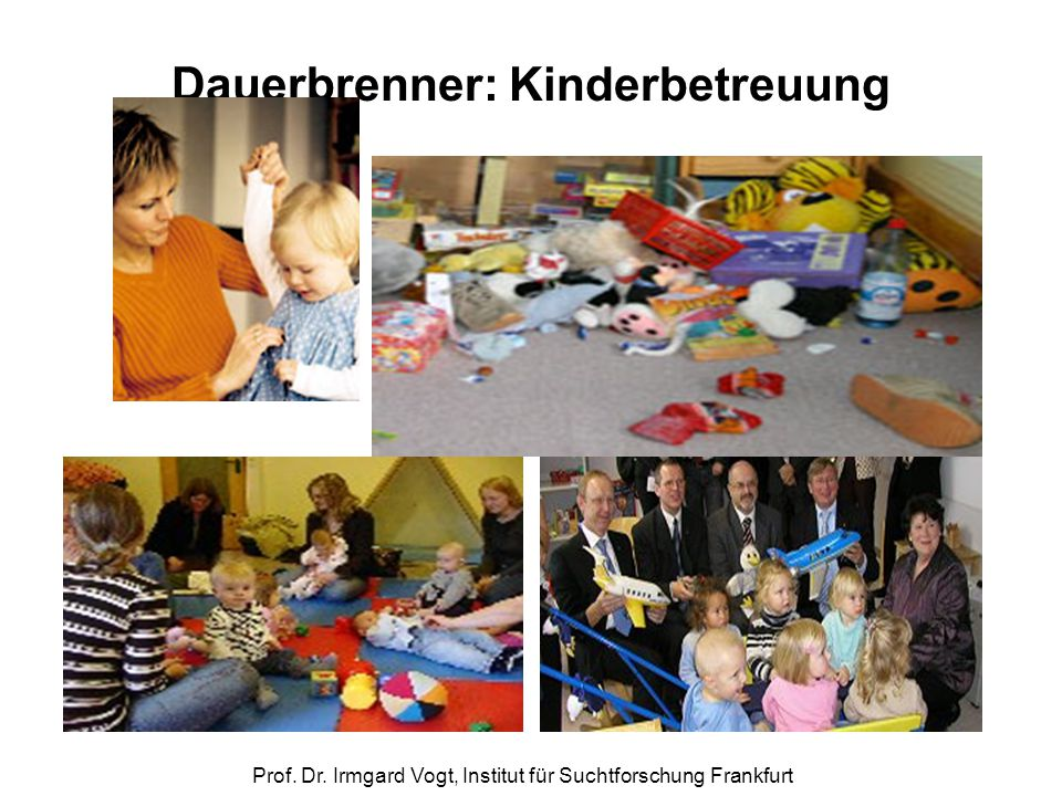 Dauerbrenner: Kinderbetreuung
