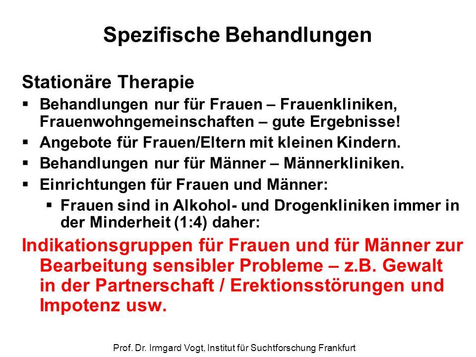 Spezifische Behandlungen