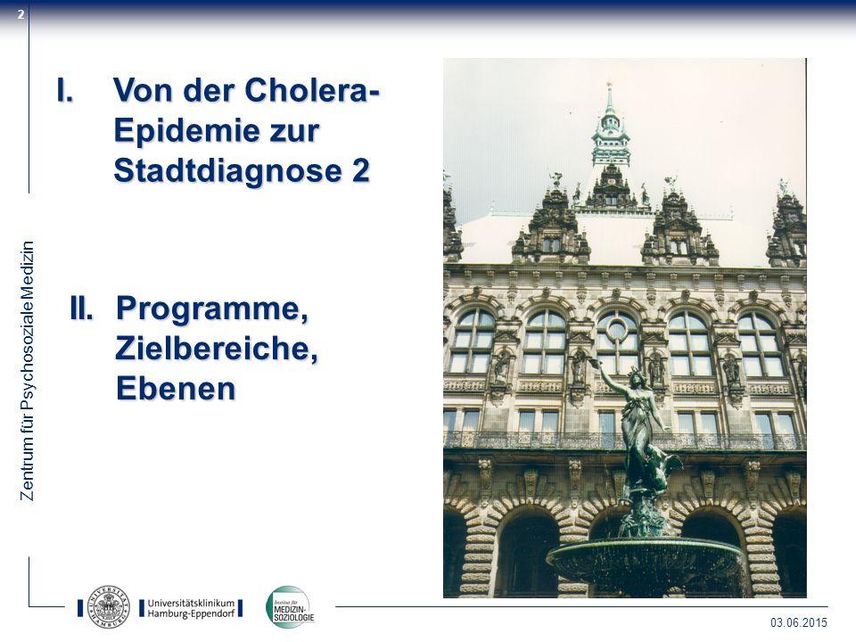 Von der Cholera-Epidemie zur Stadtdiagnose 2