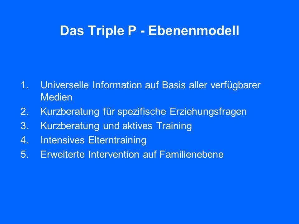 Das Triple P - Ebenenmodell