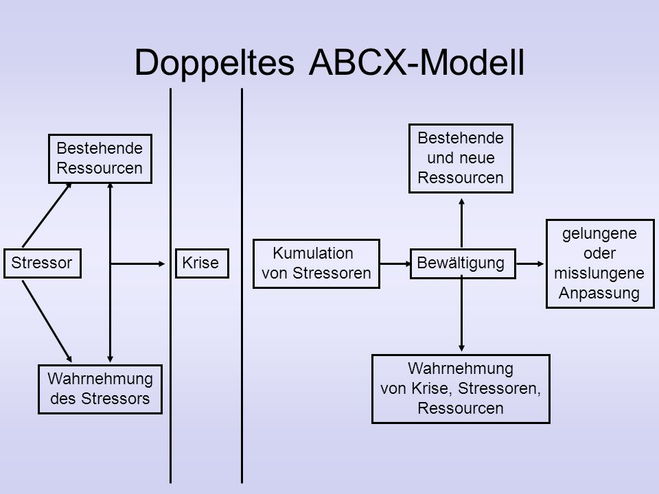 Doppeltes ABCX-Modell