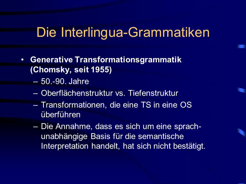 Die Interlingua-Grammatiken