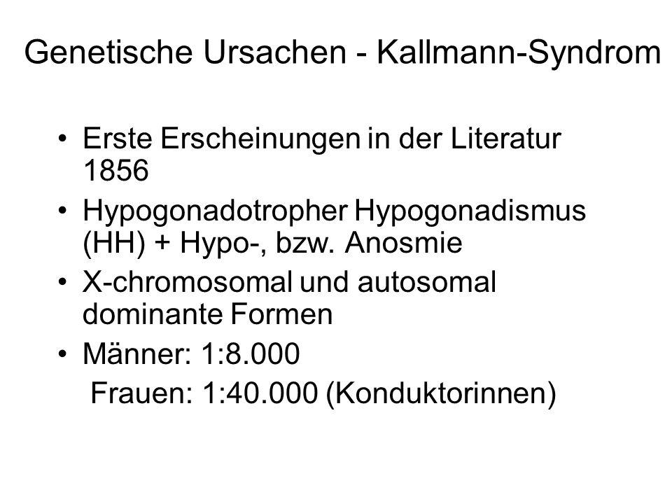 Genetische Ursachen - Kallmann-Syndrom