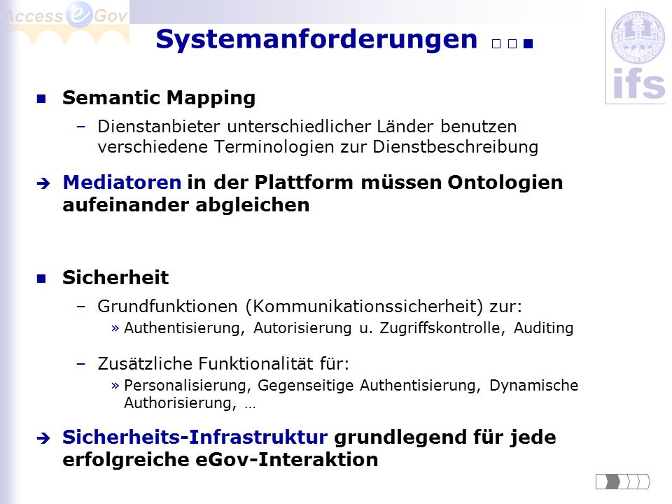Systemanforderungen Semantic Mapping