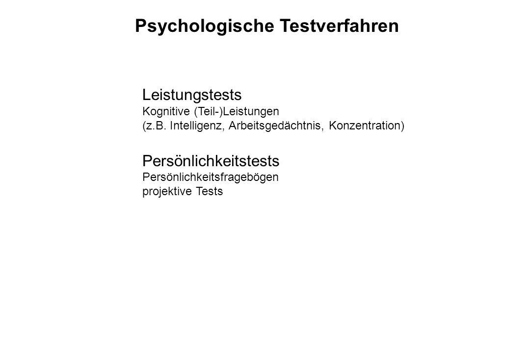 Psychologische Testverfahren