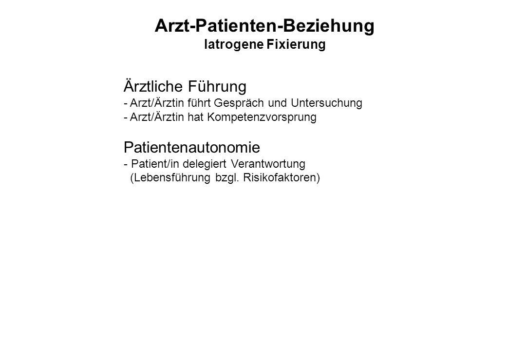 Arzt-Patienten-Beziehung