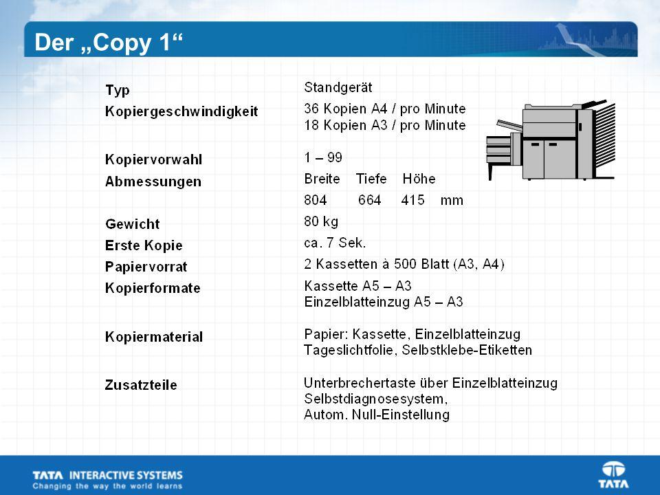 """Der """"Copy 1"""