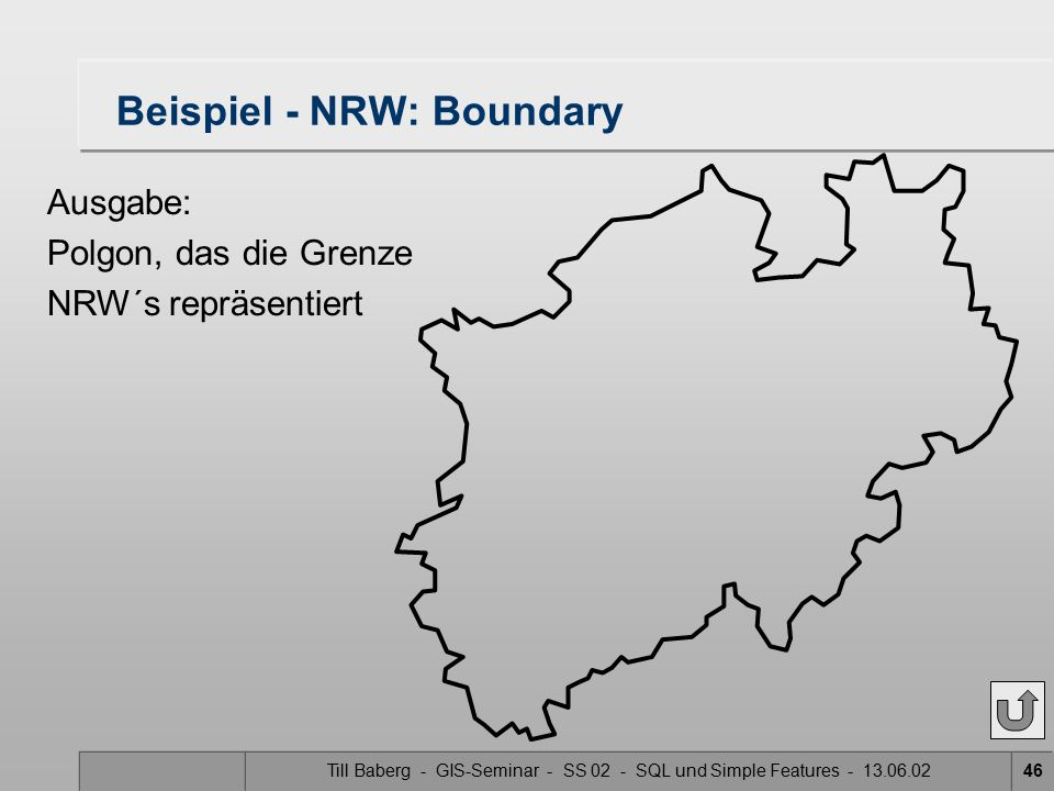 Beispiel - NRW: Boundary