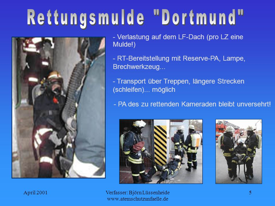 Rettungsmulde Dortmund