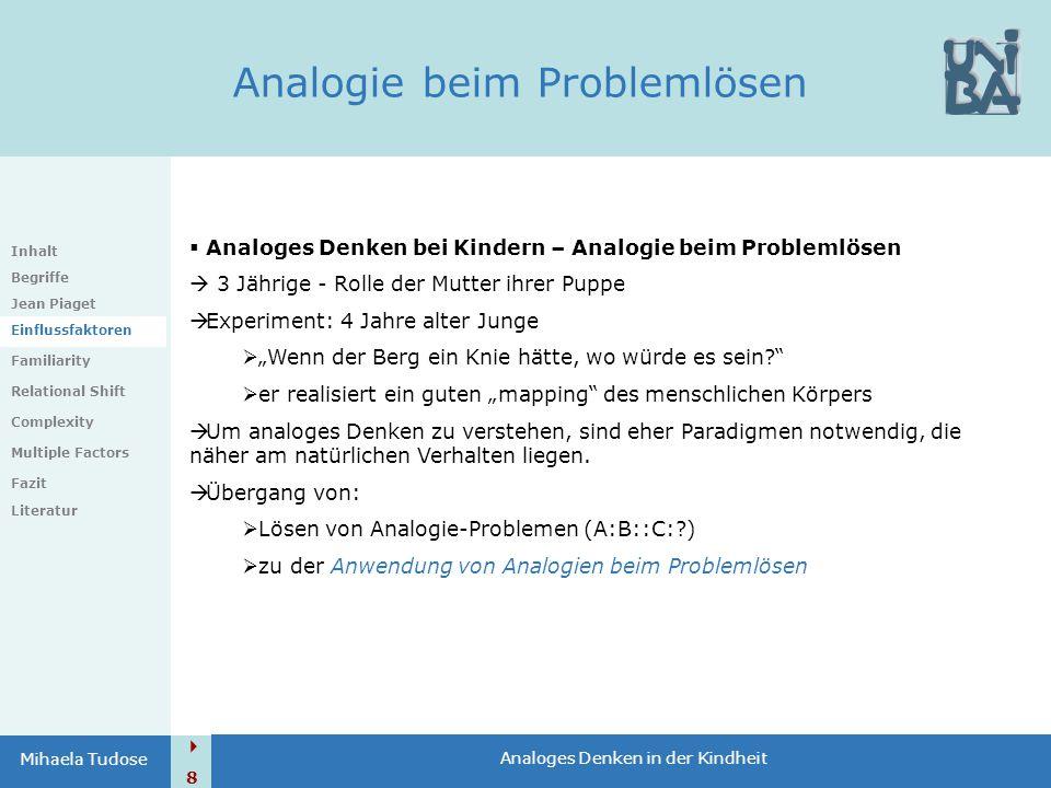Analogie beim Problemlösen