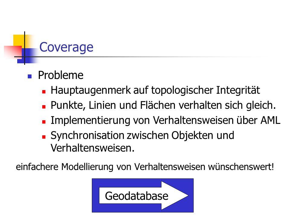 Geodatabase – Das Konzept