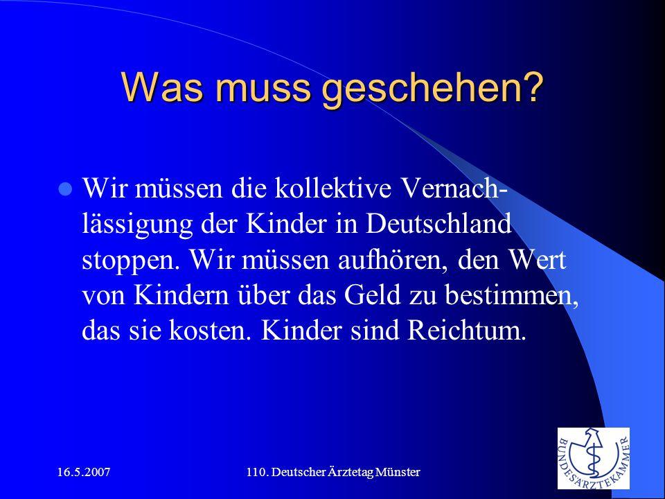 110. Deutscher Ärztetag Münster