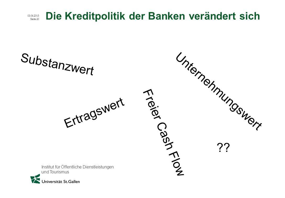 Die Kreditpolitik der Banken verändert sich