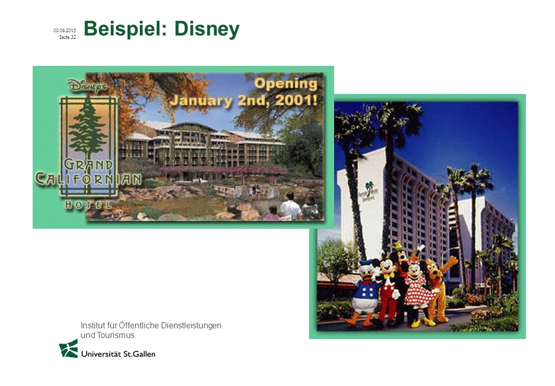 Beispiel: Disney