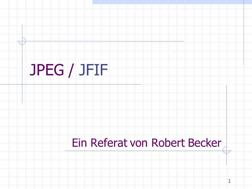 Ein Referat von Robert Becker