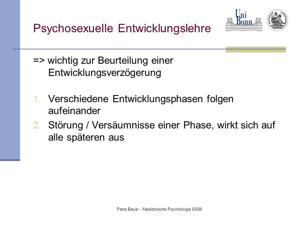 Psychosexuelle Entwicklungslehre