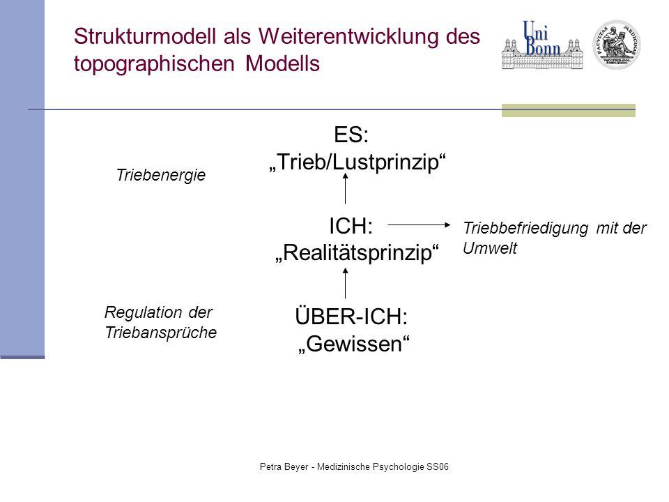 Strukturmodell als Weiterentwicklung des topographischen Modells