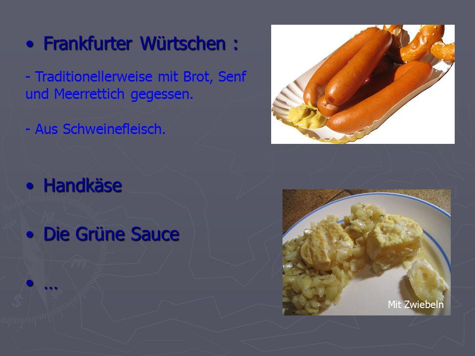 Frankfurter Würtschen :