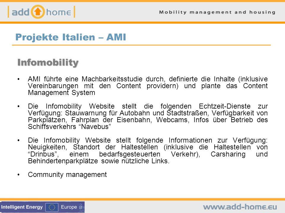 Projekte Italien – AMI Infomobility