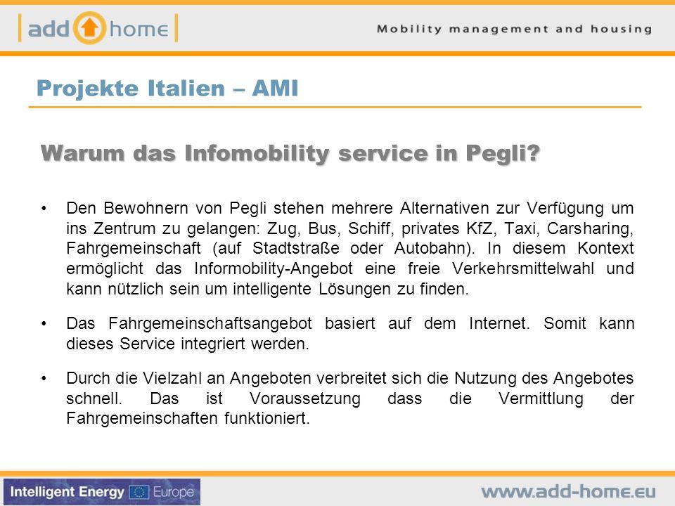 Warum das Infomobility service in Pegli