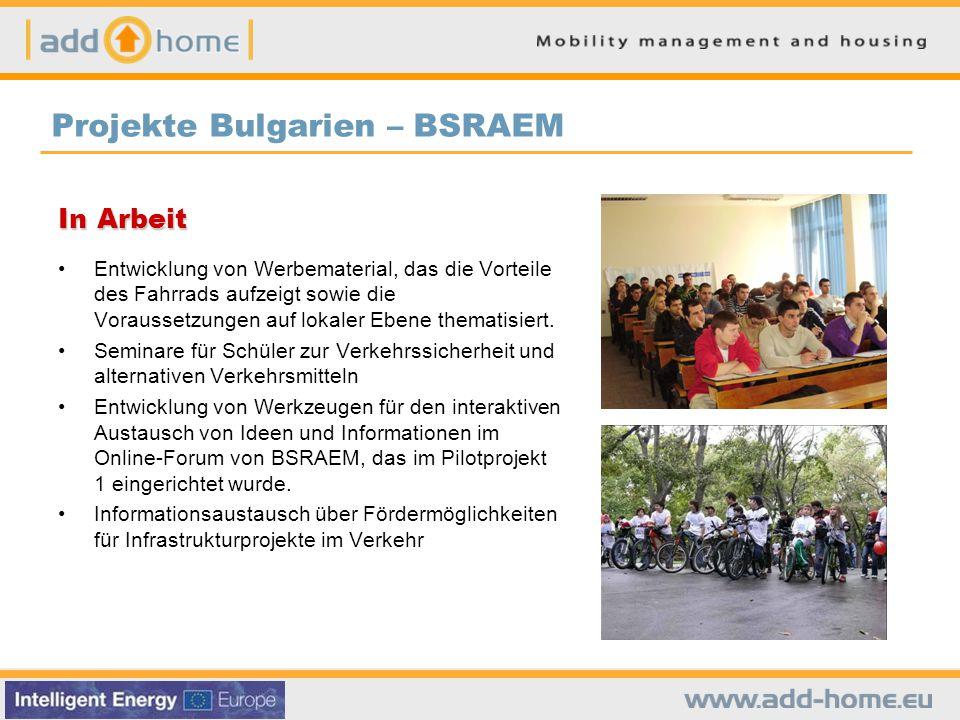 Projekte Bulgarien – BSRAEM