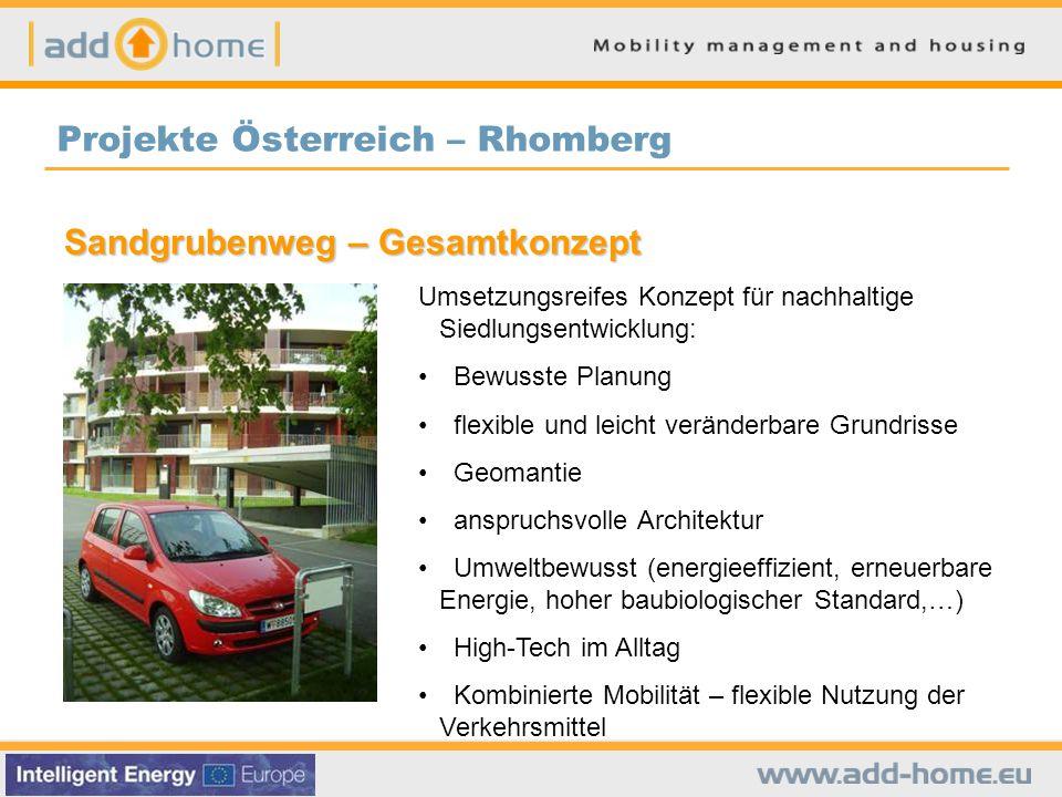 Projekte Österreich – Rhomberg
