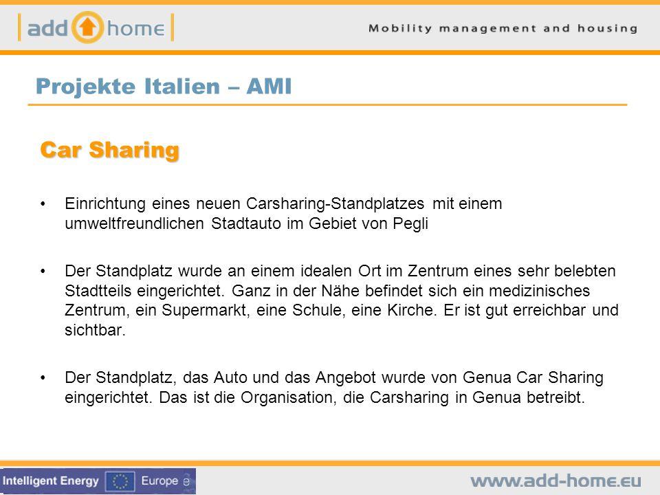 Projekte Italien – AMI Car Sharing