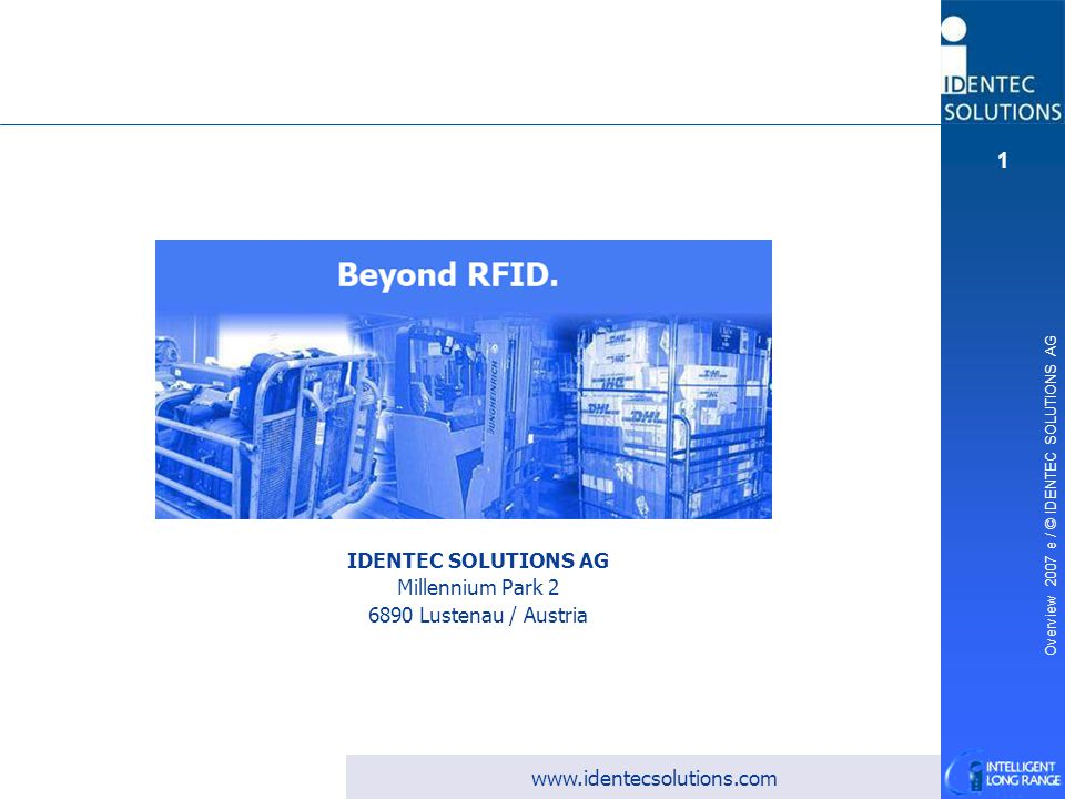 Beyond the Limits of RFID.