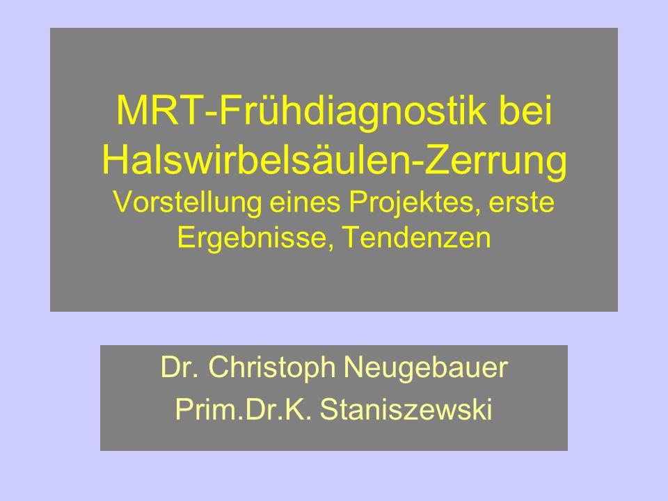 Dr. Christoph Neugebauer Prim.Dr.K. Staniszewski