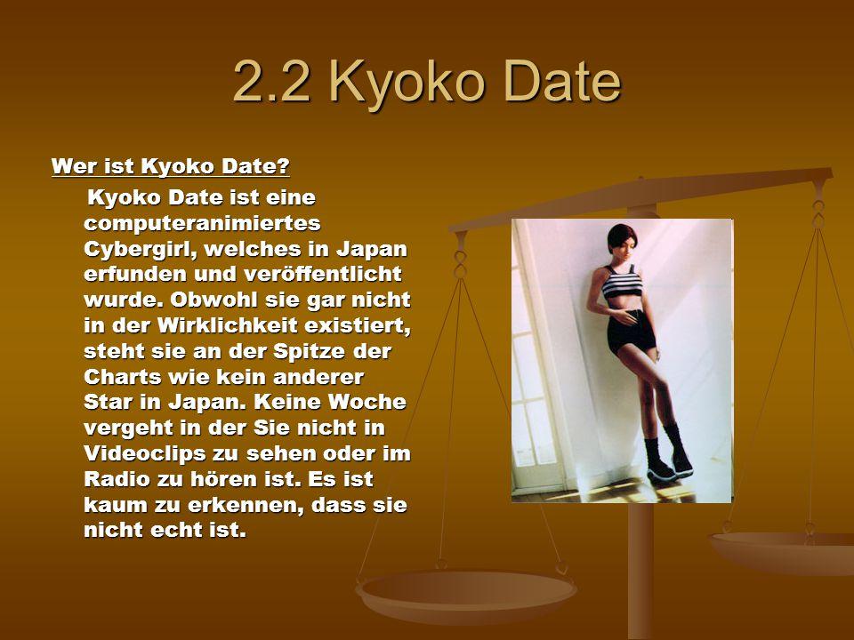 2.2 Kyoko Date Wer ist Kyoko Date