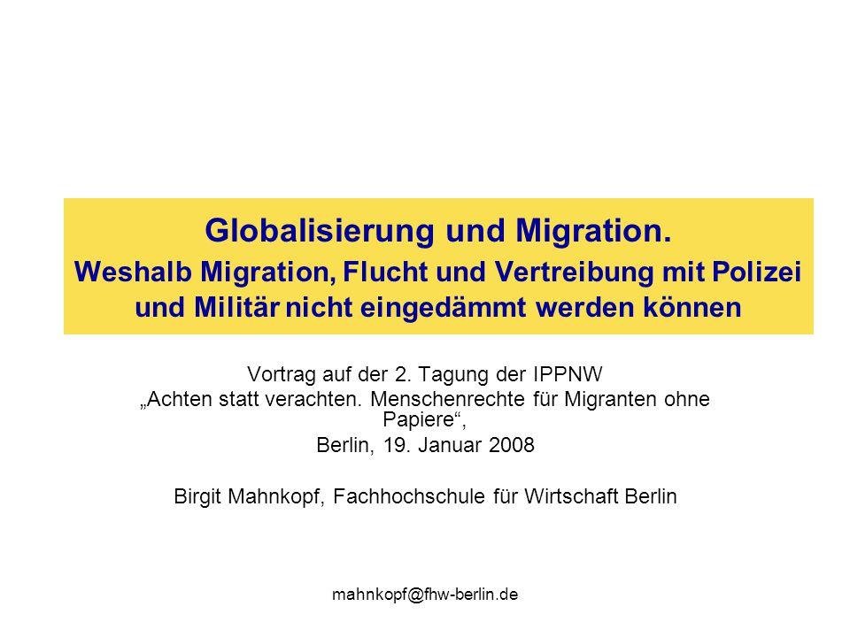 Globalisierung und Migration