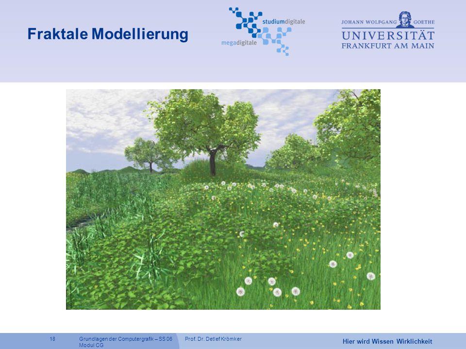 Fraktale Modellierung