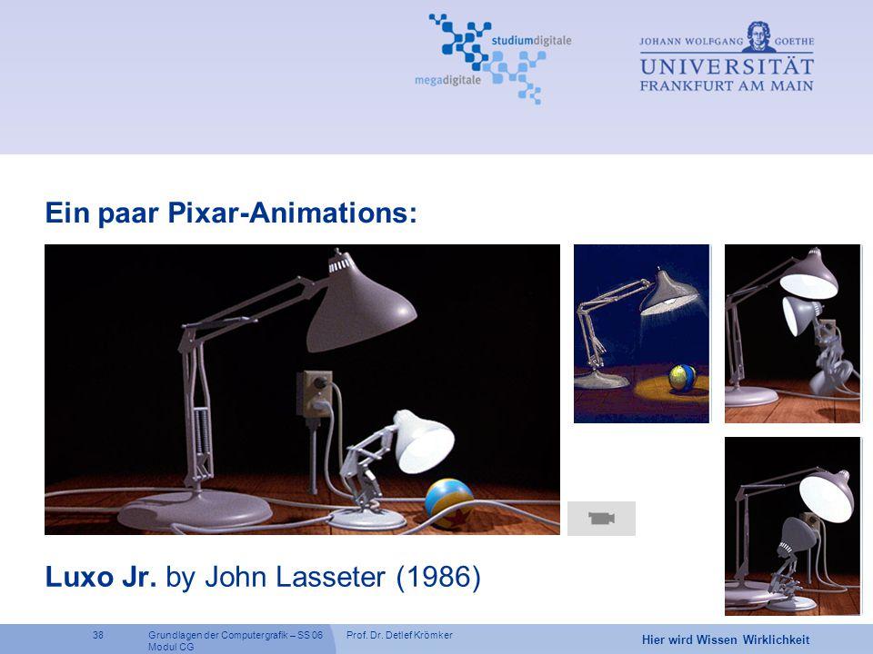 Luxo Jr. by John Lasseter (1986)