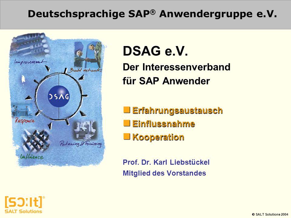 Deutschsprachige SAP® Anwendergruppe e.V.