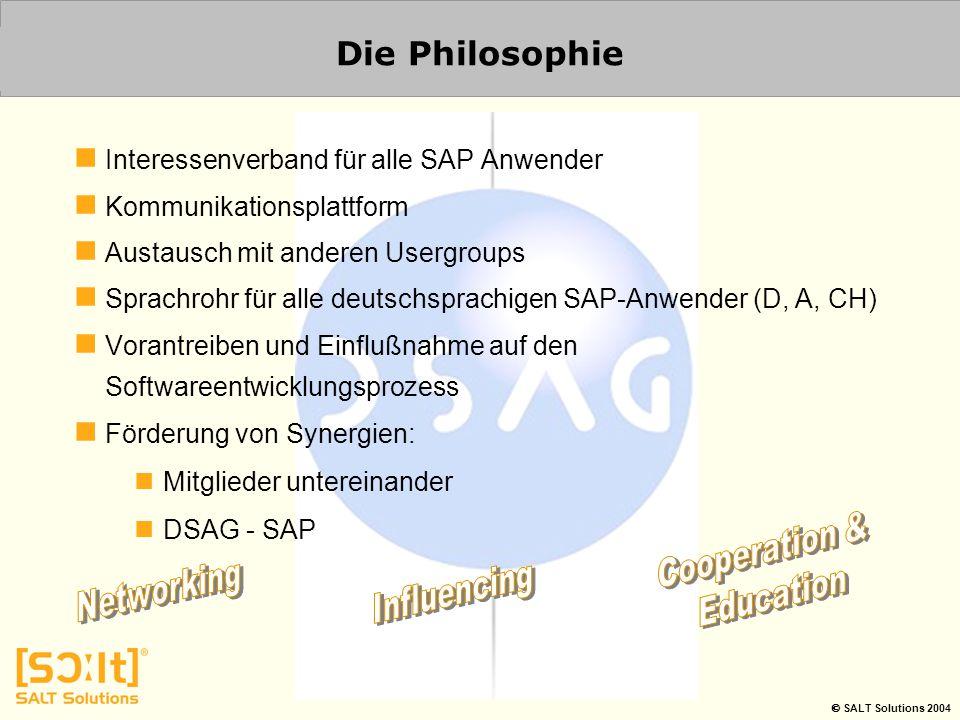 Die Philosophie Interessenverband für alle SAP Anwender
