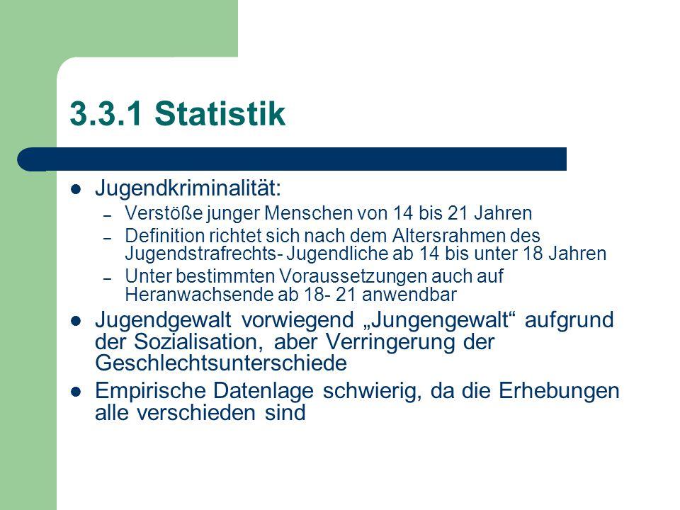 3.3.1 Statistik Jugendkriminalität: